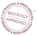 Logo: Bestätigt Ultraschall und Micro Needling